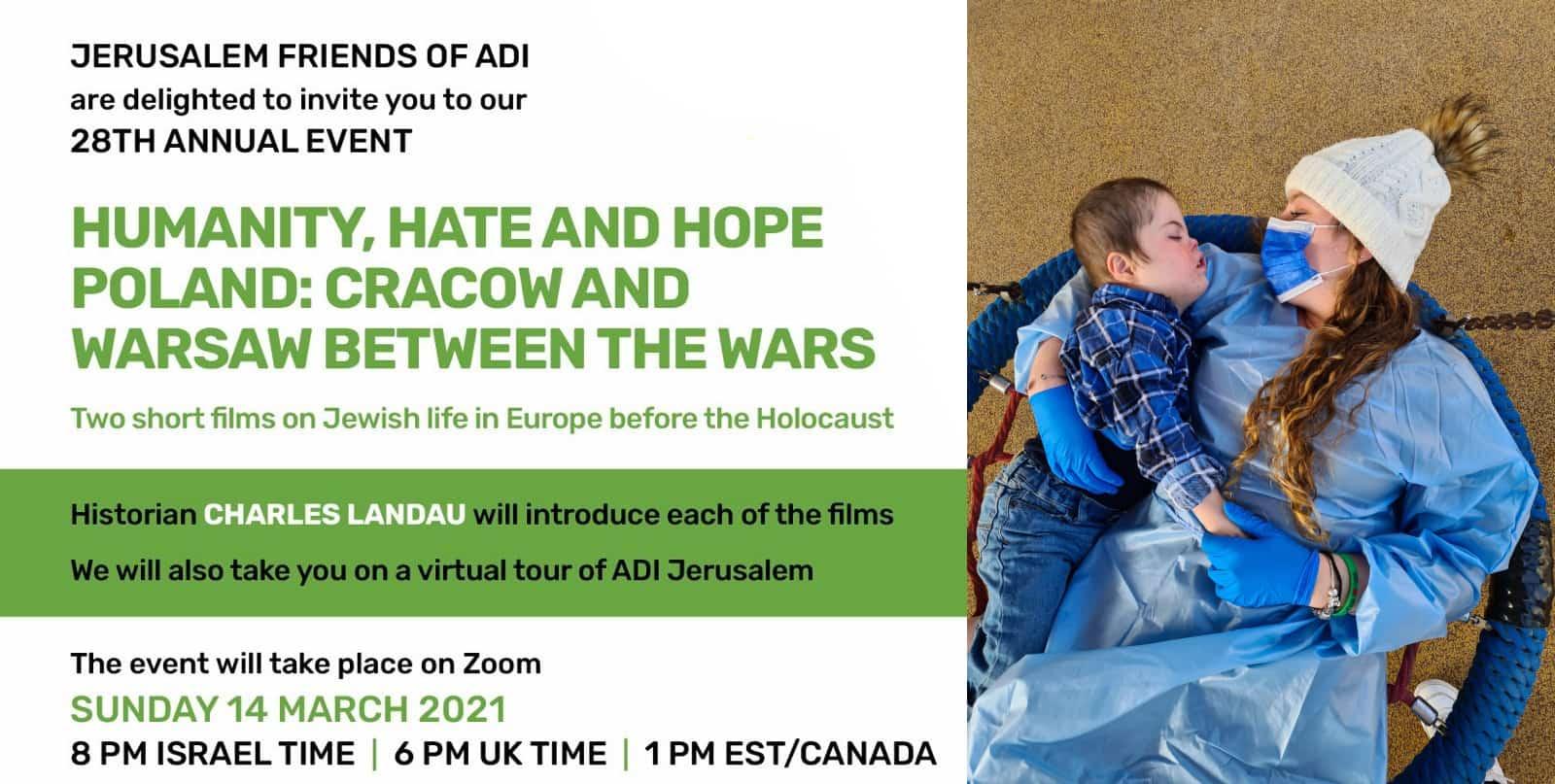 Jerusalem Friends of ADI 28th Annual Event